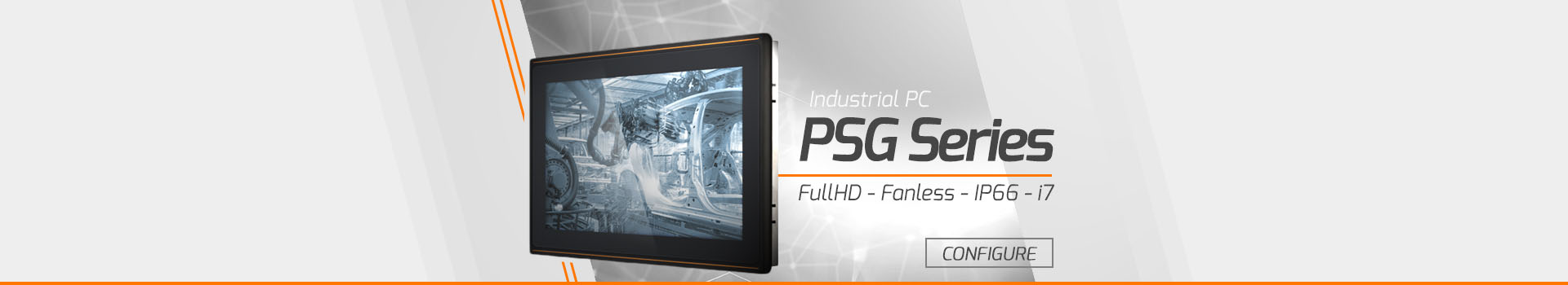 Industrial Panel PC - PSG Series